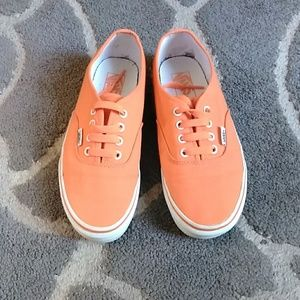 Vans off the Wall Orange Shoes